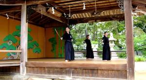 水谷剣士(明石)、久保剣士(神戸居合道倶楽部)、榊原剣士(高砂)