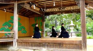 幸田剣士(神戸居合道倶楽部)、島田剣士(明石)、蓬莱剣士(明石)